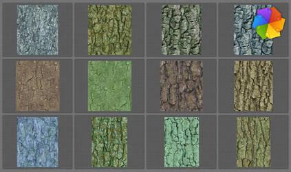 tree bark seamless textures by plaintextures