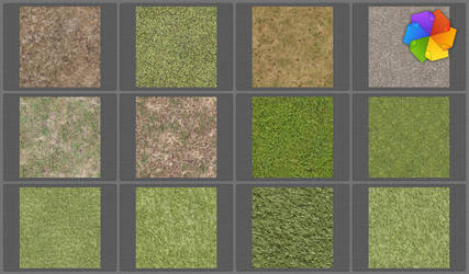 grass tiled textures by plaintextures
