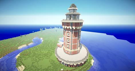 Historical Lighthouse by MagDragonWolf