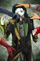 Loki- Spoils of War by Yuuram93