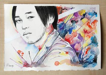 Ping portrait by OrangeSwine