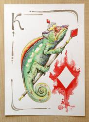 Chameleon - Denari by OrangeSwine