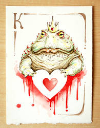 Toad - Cuori by OrangeSwine