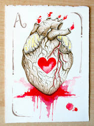 Heart - Asso di cuori by OrangeSwine