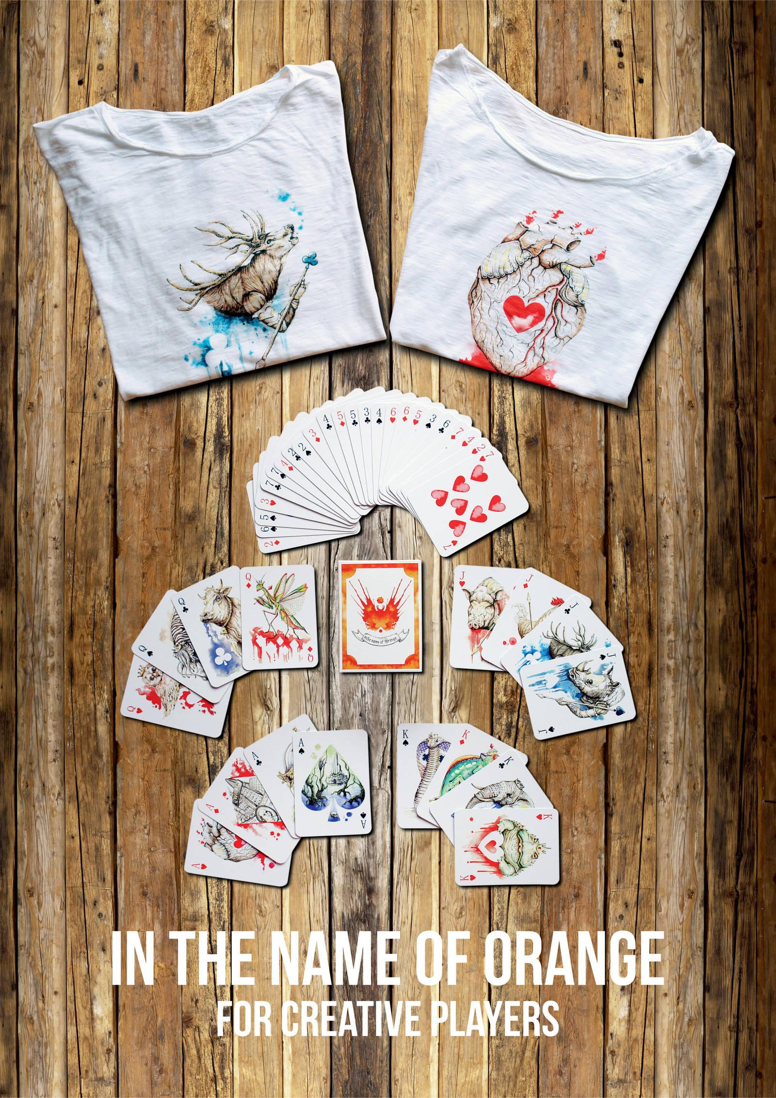 Plastic playing cards by OrangeSwine