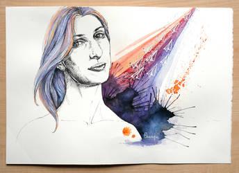 Dieci aeroplanini - Claudia by OrangeSwine