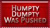 Humpty Dumpty Stamp by bandit4edu