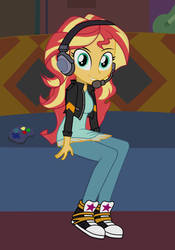 Sunset Shimmer by Tabrony23