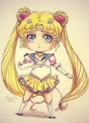 Sailor moon chibi by Franky-Tiem