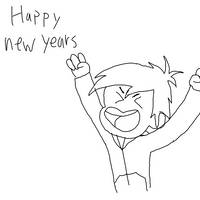 Happy new years everyone! by phythonking
