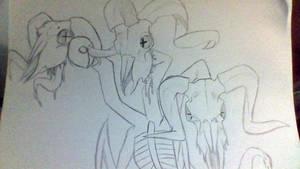 Ram Headed Demon by phythonking