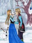 Olaf's First Kiss? by Yrya-chan