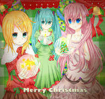 -Vocaloid Christmas- by AgnesAr