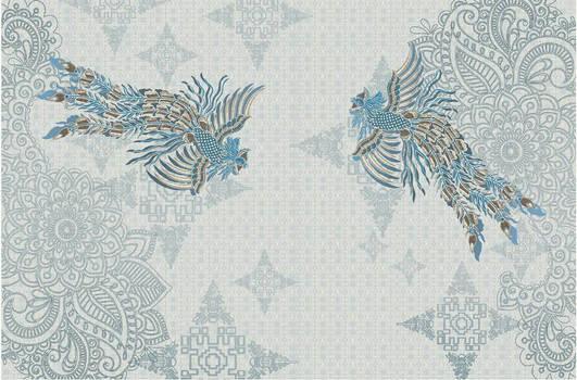 PARADISE BIRD x GRINSING PATTERN by AkmalDSGN