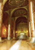 Temple of Opulence by banuandaru