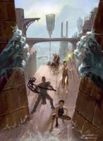 The Doors of Marble City by banuandaru
