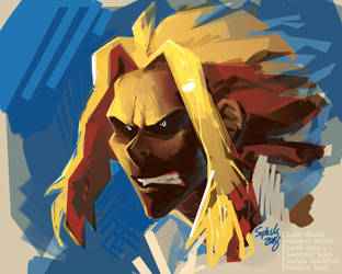All Might! by Siplick