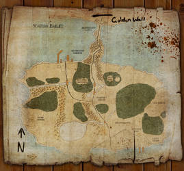 Old Map of South Emlet by 7he1ndigo