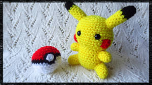 Amigurumi Chibi Pikachu Plush by CraftyEmily