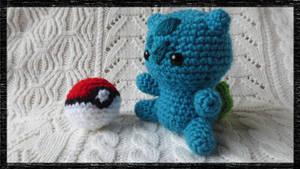 Amigurumi Chibi Bulbasaur Plush by CraftyEmily