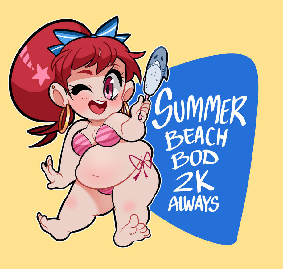 Beach Bod 2k by geekysideburns