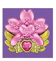 Pink Cherryblossom Cure Decor by Kirakiradolls