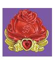 Red rose cure decor by Kirakiradolls