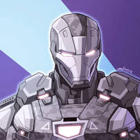 War Machine (Infinity War) by SIMGart
