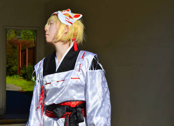 Kagamine Len: Dreaming Little Bird 3 by leftshoelace