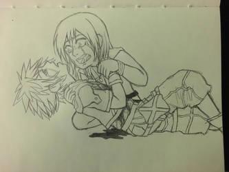 Sokai Angst Sketch by La-Anime