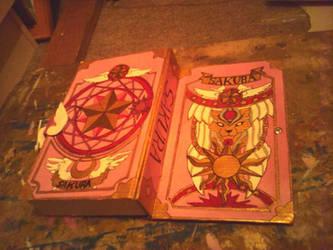 Sakura's Card Book by cacoxima