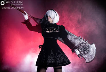2B NieR Automata by ShizukaCosplayeArt