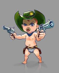 Western Baby by DavidGalopim