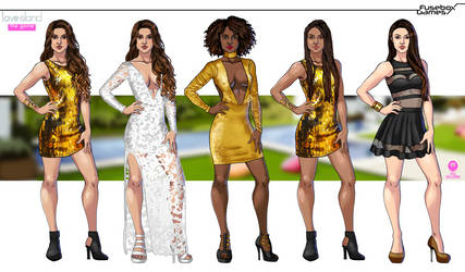 Love Island the Game - Player Outfits by DavidGalopim