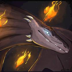 Fiery boy by Efsher