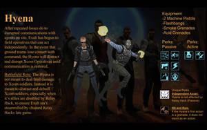Xcom Unit Idea: Hyena by KeybladeKnight99