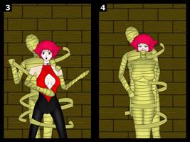 Cutie Honey mummy peril (3-4/7) by cgaegavga99