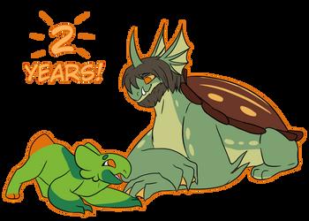 Two years of wyngro~ by Runomye