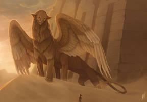 Sphinx by MAnisimova
