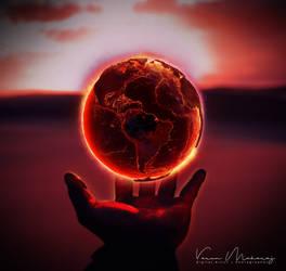 Planet Hand by vmaharaj