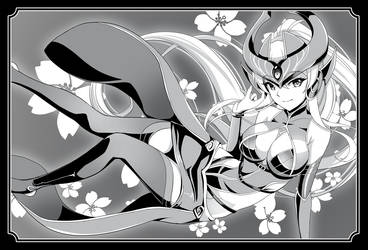 syndra_black and white 01 by chanseven