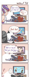 LOL_wife/TV by chanseven