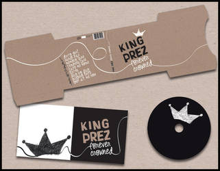 CD Cover - King Prez by ellbe