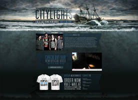 CITYLIGHTS website by isisdesignstudio