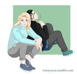 OtaYuri fan art by TemyNyan