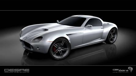 Cobra Venom V8 concept car 1 by Jamie-Martin