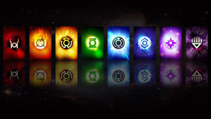 Lantern Corps Wallpaper by Gorzki