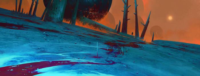 Turquoise Land by MaxBedulenko