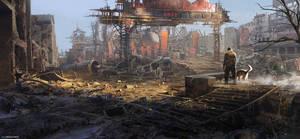 The Wasteland by MaxBedulenko