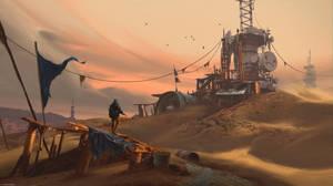 The Sandcamp by MaxBedulenko